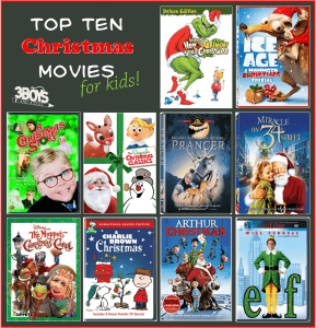 Top 10 Christmas Movies List (for Kids)