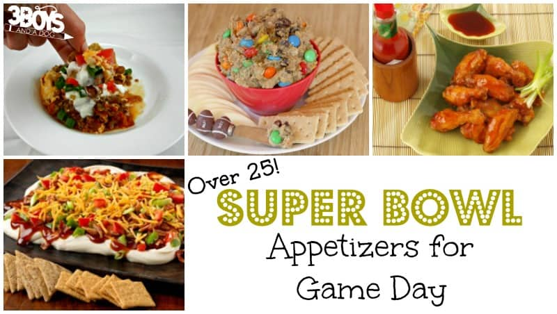 Super Bowl Appetizers for Game Day