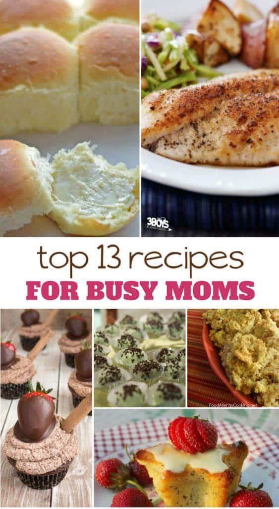 13 recipes for busy moms