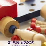 21 Fun Indoor Activities for Toddlers