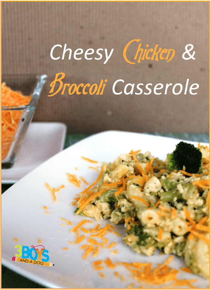 Cheesy Chicken and Broccoli Casserole Recipe
