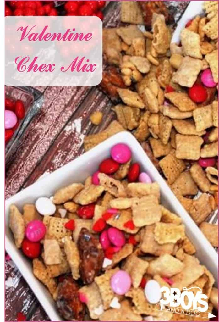 Valentine Chex Mix