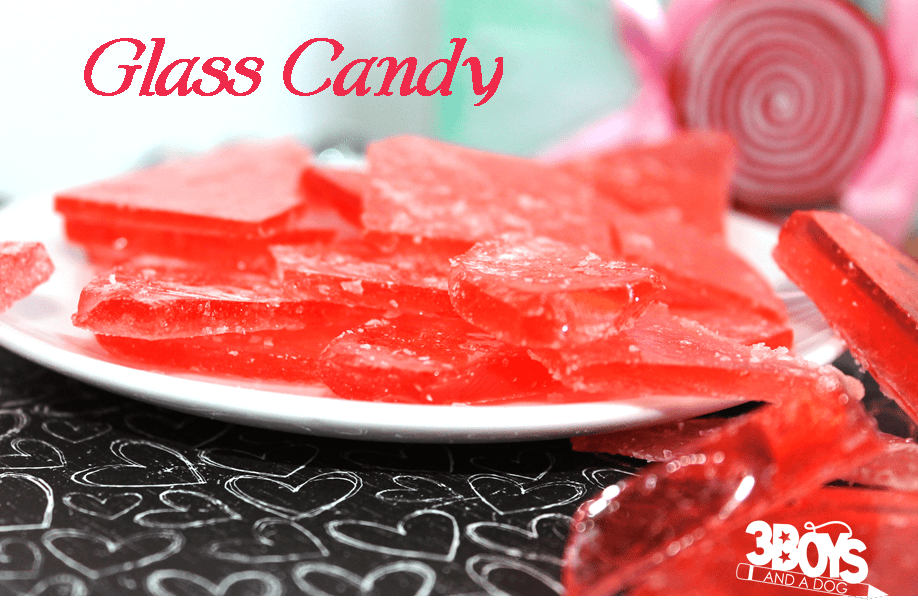 glass candy recipe