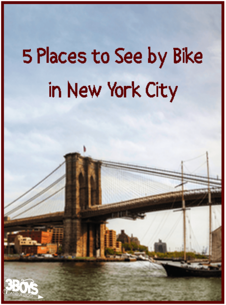 5 Places to See by Bike in New York City