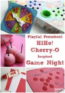 HiHo! Cherry-O Inspired Game Night