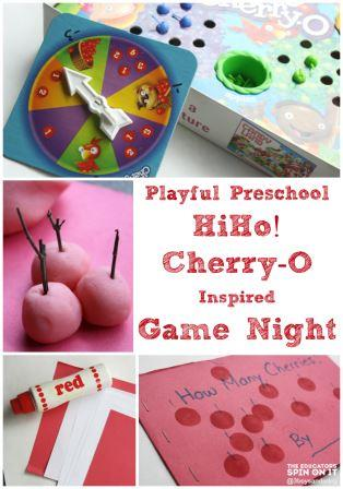 Make game night fun for your preschooler with HiHo Cherry-O Inspired activities!