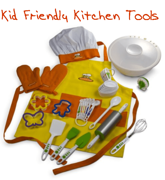 real cooking tools for kids