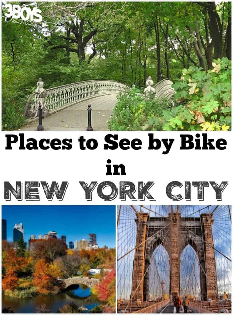 Places to See by Bike in NYC