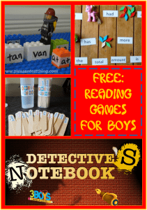 Best Reading Games for Boys