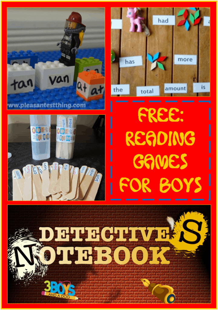 Reading Games for Boys