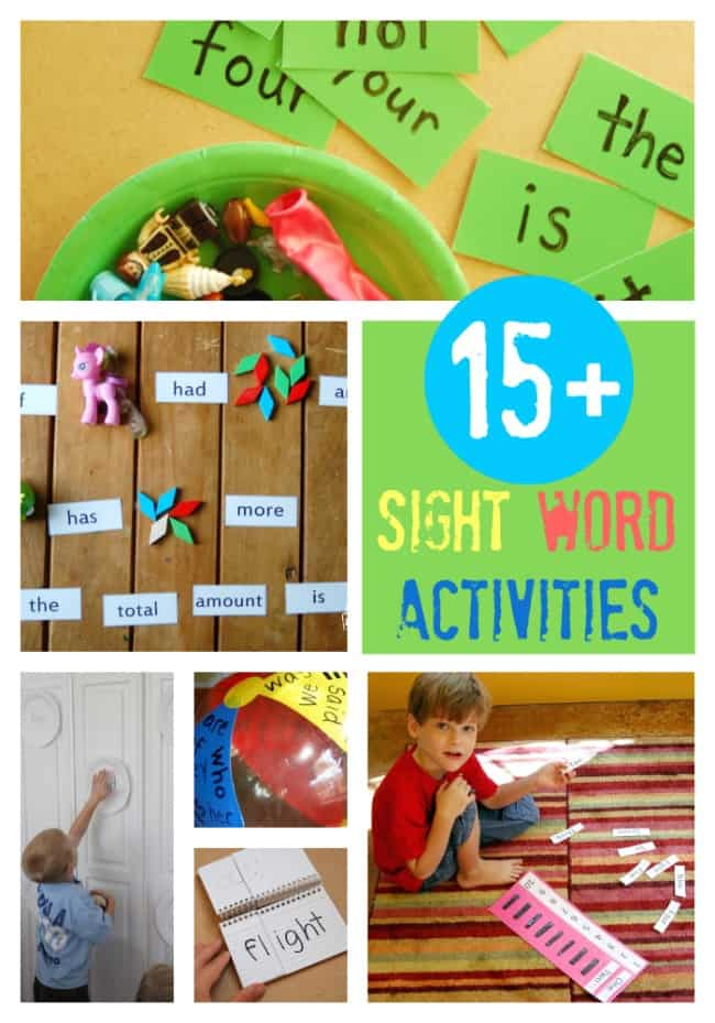 fun sight word games games to help kids learning to read