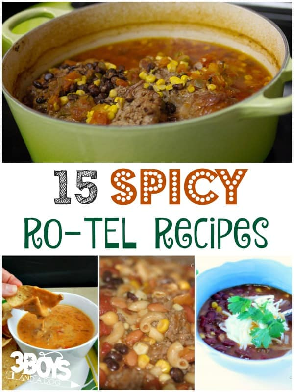 Spicy Rotel Recipes