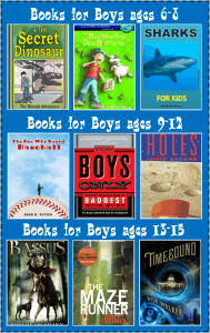 Books for Boys: Make Reading Fun