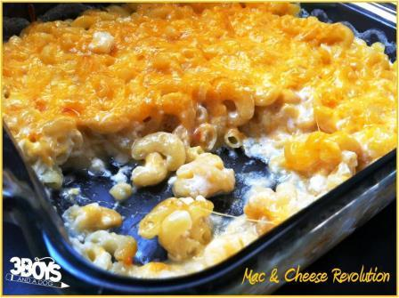 image of the best ever mac & cheese