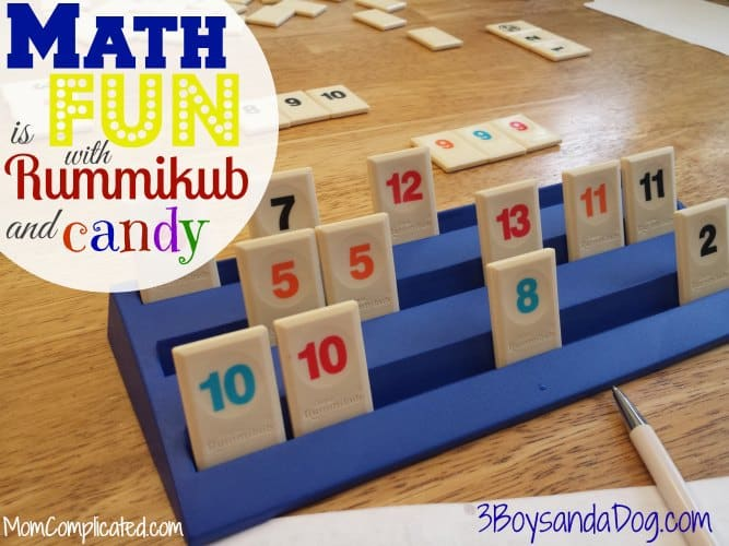 Math is fun with Rummikub and candy