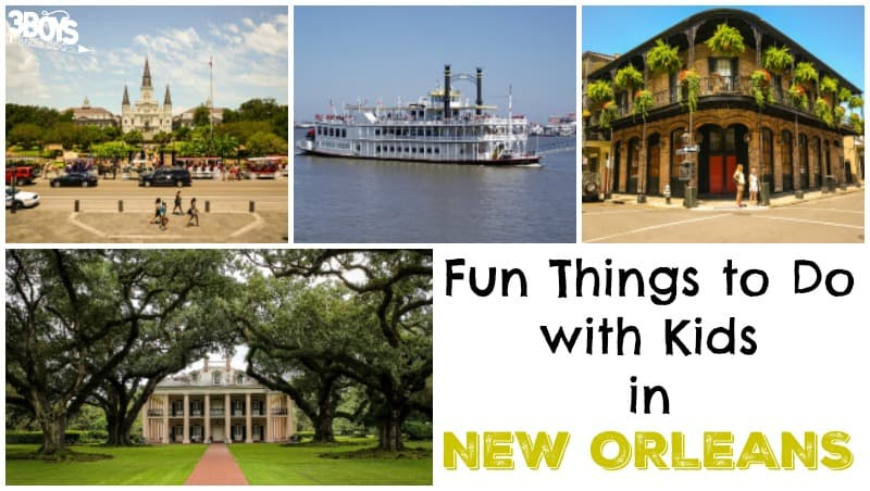 10 Things to Do with Kids in New Orleans