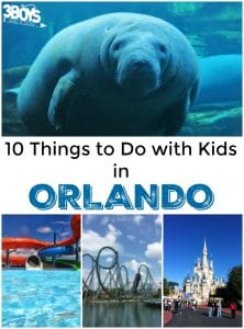 Orlando: 10 Things To Do With Kids!