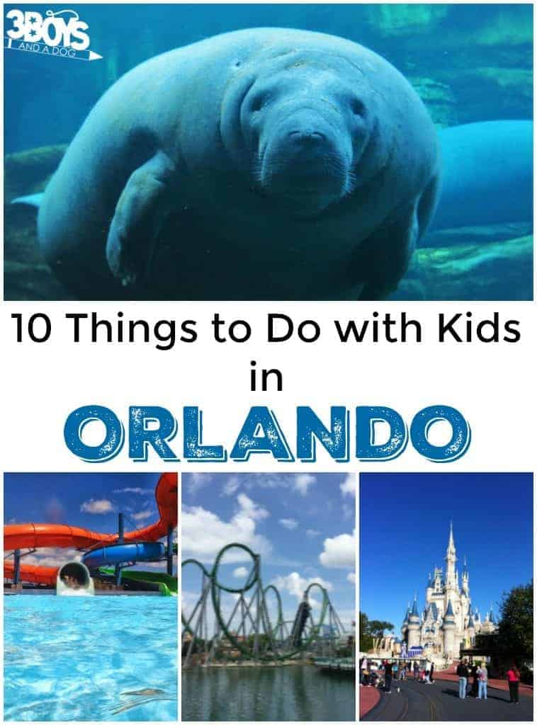 10 Things to Do with Kids in Orlando
