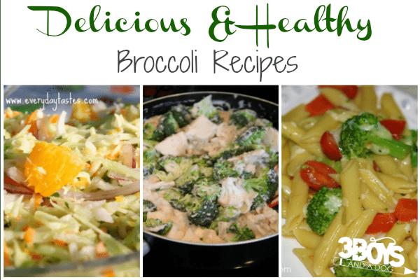 Delicious and Healthy Broccoli Recipes