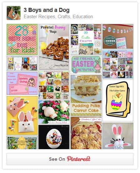 Easter Pinterest Board