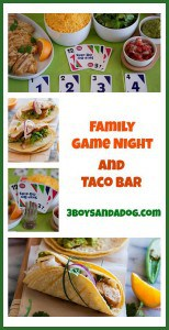 Game Night Fun and Taco Bar