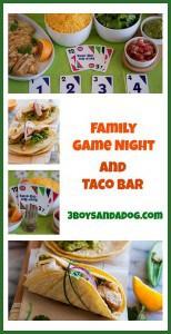 Game Night Fun and Taco Bar