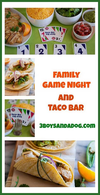 Family Game Night and Taco Bar