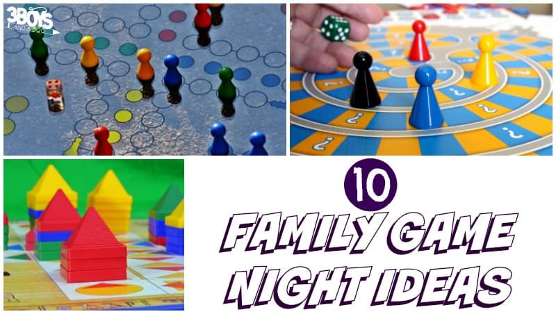 Fun Family Game Night Ideas to Try - 3 Boys and a Dog