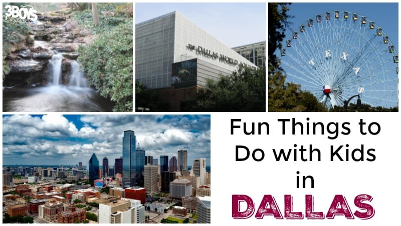 Fun Things to Do with Kids in Dallas