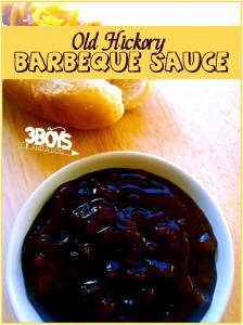 Make Your Own Old Hickory Barbecue Sauce