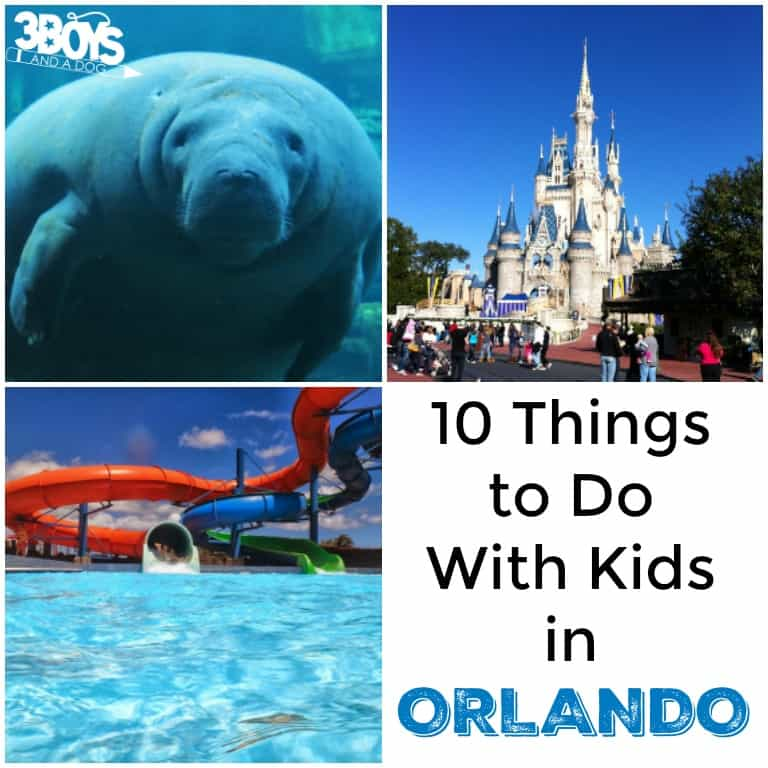 Orlando: 10 Things to Do with Kids