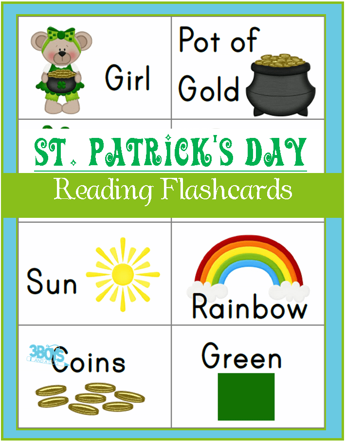 Saint Patrick's Day Printables: Sight Words