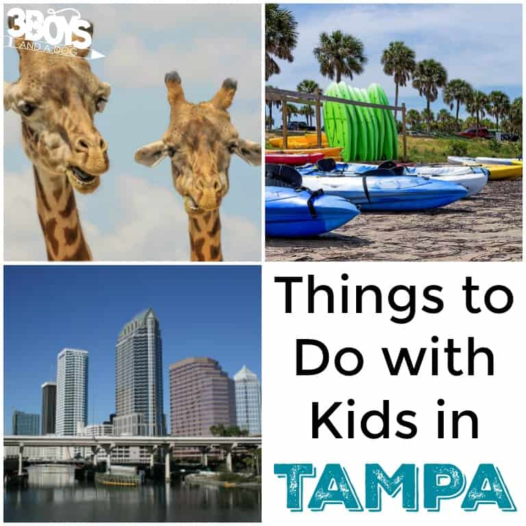 Tampa - 10 Things to Do with Kids
