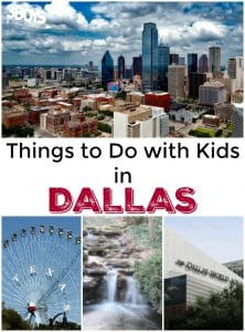 Dallas: 10 Things To Do With Kids!