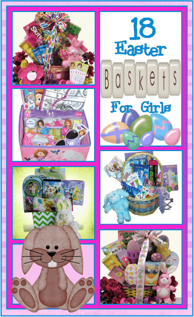 themed basket filler ideas for girls
