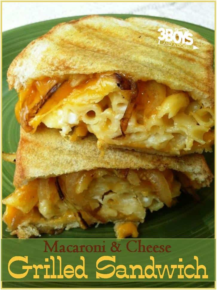Ultimate Macaroni and Grilled Cheese Sandwich