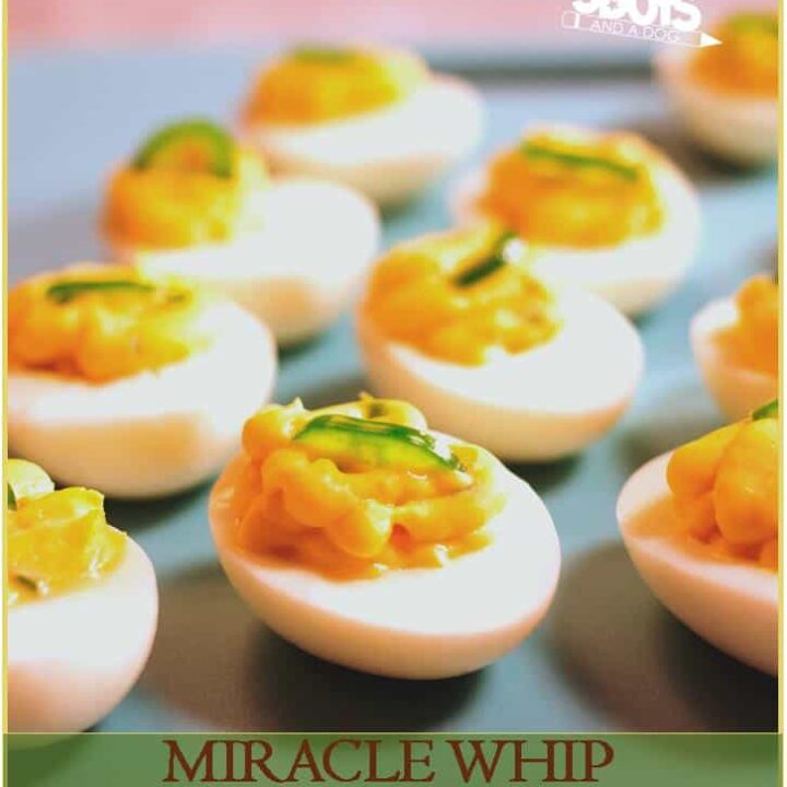 MIRACLE WHIP Spicy Deviled Eggs