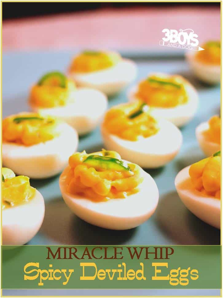 Miracle Whip_Spicy Deviled Eggs