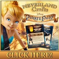 DIY Neverland Craft Activities (inspired by Pirate Fairy)
