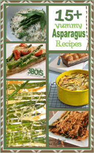over 15 yummy asparagus recipes