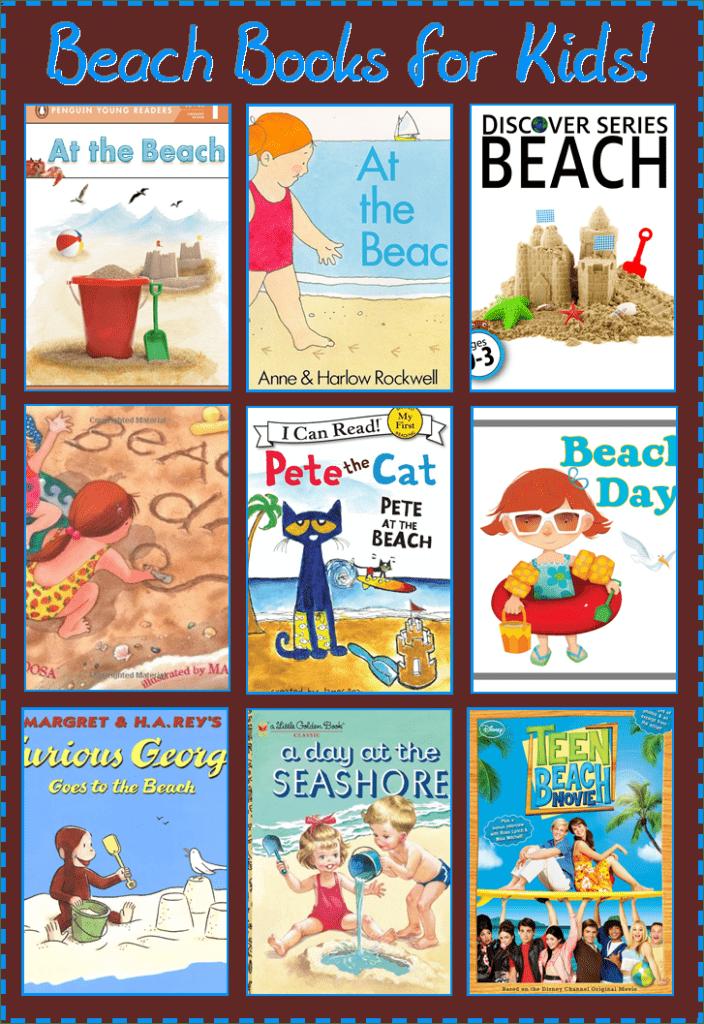 9 beach themed books for kids
