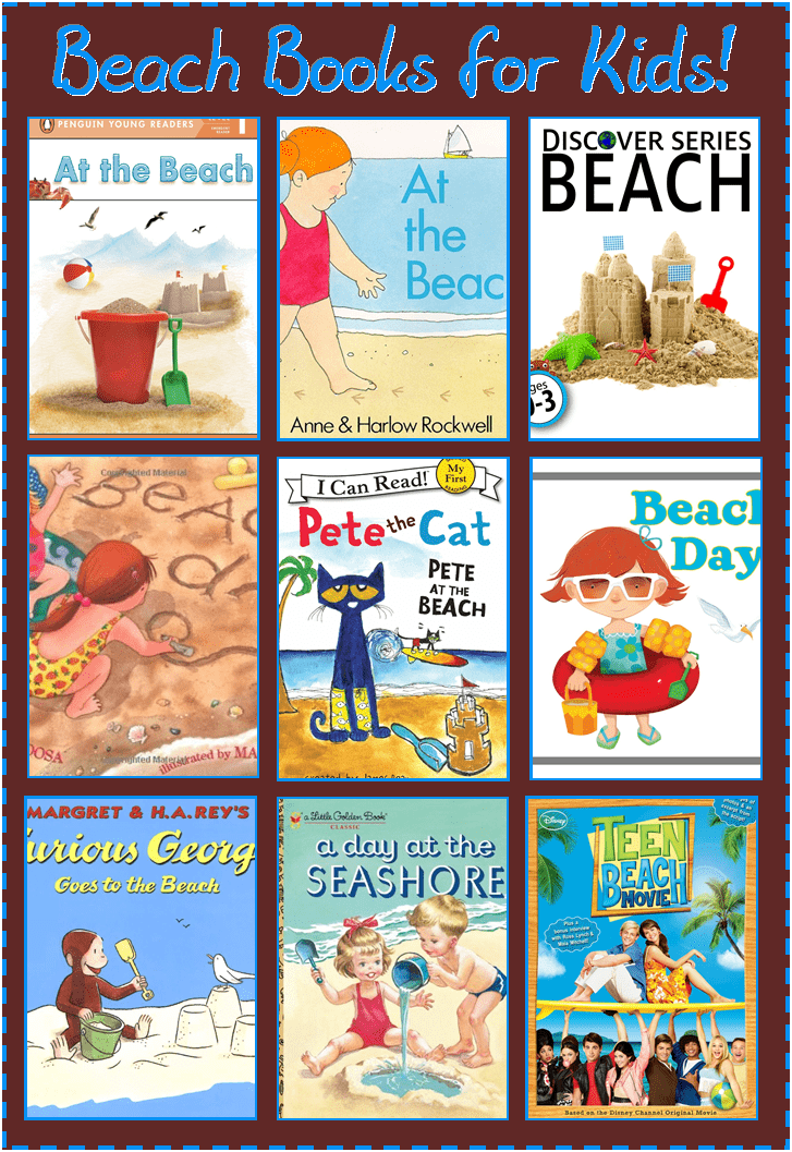 9 beach themed books for kids