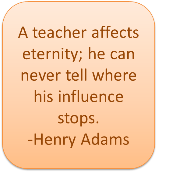 inspirational quotes about teachers quotesgram