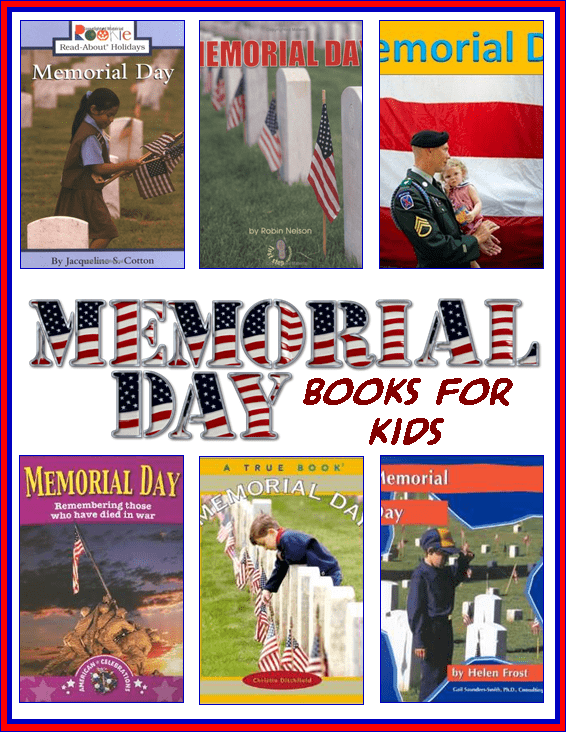 Memorial Day Books for Kids