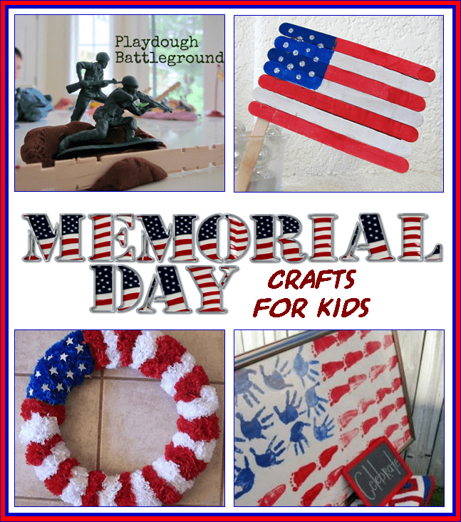 Memorial day educational activities for kids 3 boys and for Veterans day crafts for preschoolers