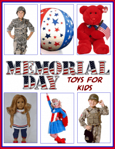 Fun Memorial Day Toys for Kids!