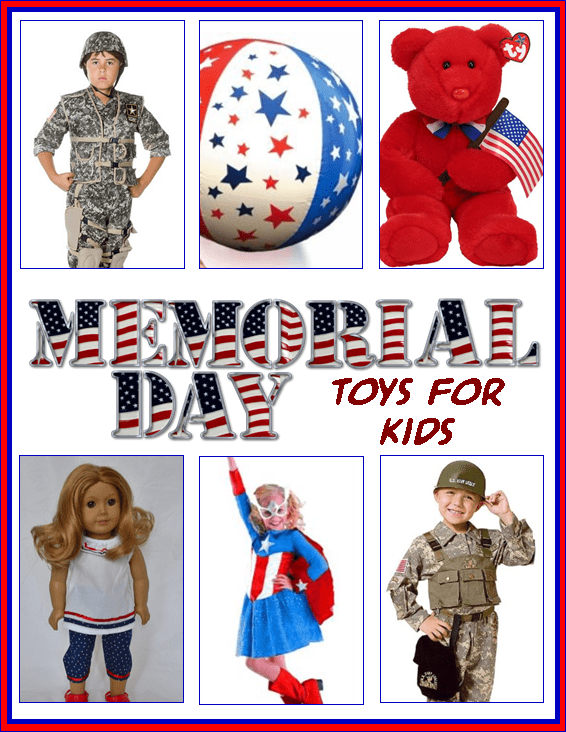 Memorial Day Toys for Kids