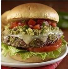 Hard Rock Fiesta Burger Recipe