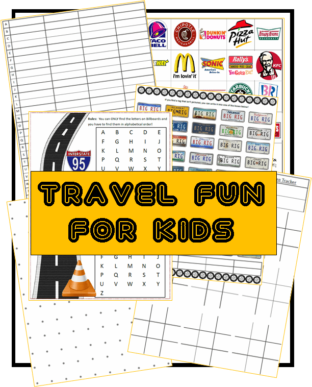The Only Road Trips for Kids Resource You Will Ever Need!