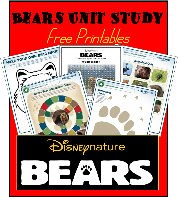 disneynature bears activities